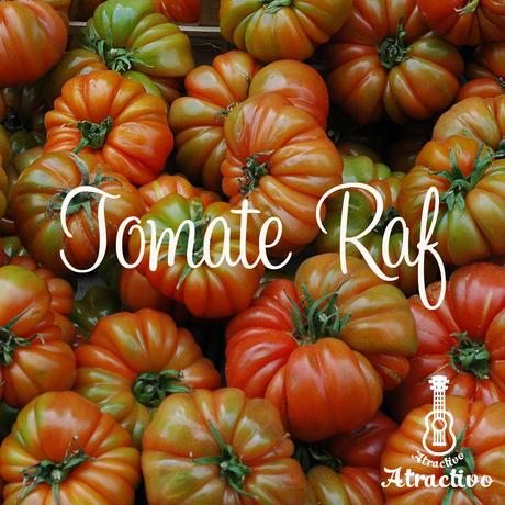 スペインの高級品種のトマト(トマテ・ラフ)