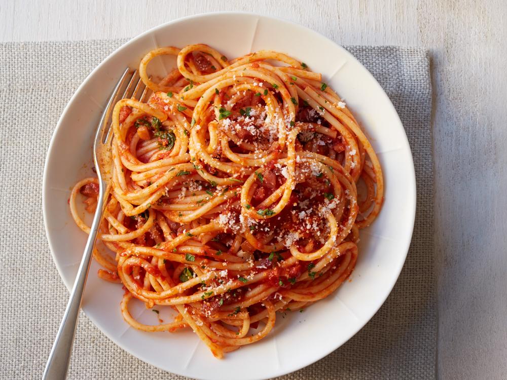 イタリア・ローマの郷土料理アマトリチャーナ