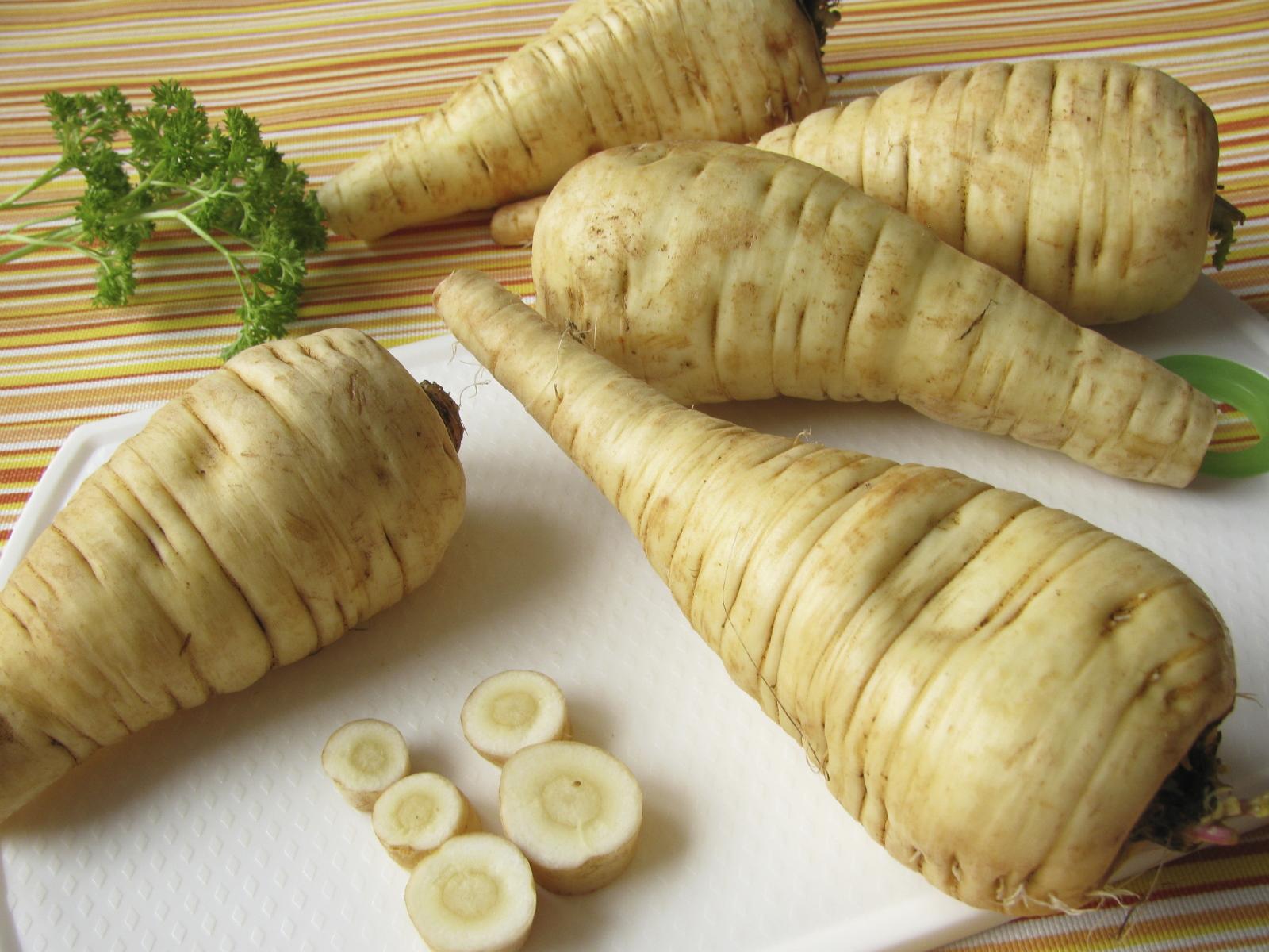 イギリスの野菜「パースニップ」
