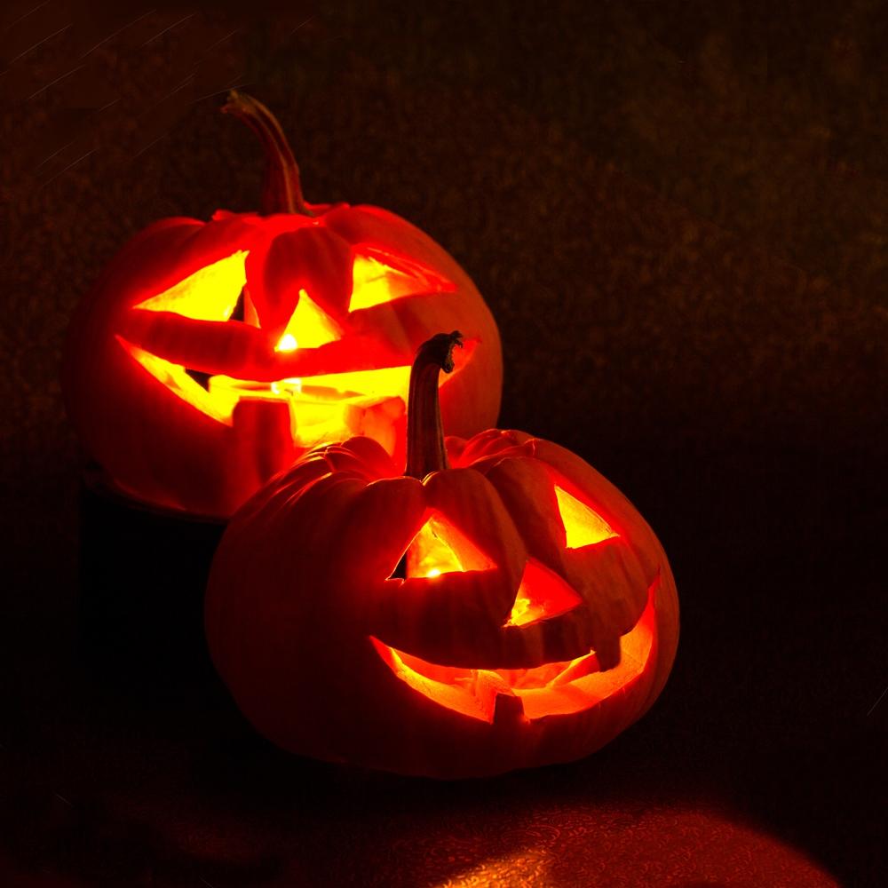 ハロウィンでおなじみのかぼちゃ/ジャックオーランタン